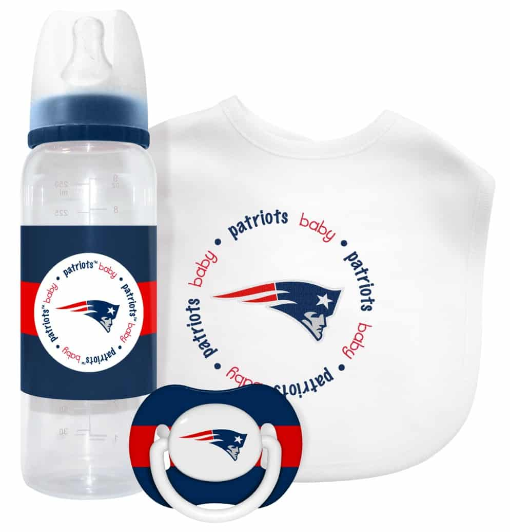 best website 35214 96004 New England Patriots Baby Gift Set