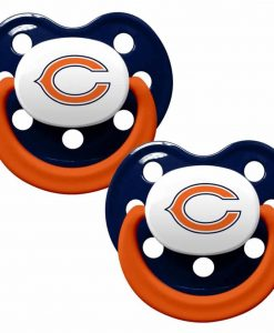 Chicago Bears Pacifiers 2 Pack