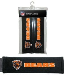 Chicago Bears Velour Seat Belt Pads