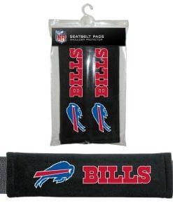 Buffalo Bills Velour Seat Belt Pads