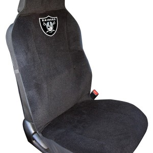 oakland raiders seat cover detroit game gear. Black Bedroom Furniture Sets. Home Design Ideas