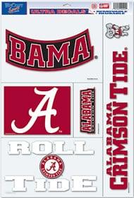 """Alabama Crimson Tide 11""""x17"""" Ultra Decal Sheet"""