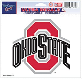 """Ohio State Buckeyes 5""""x6"""" Color Ultra Decal"""