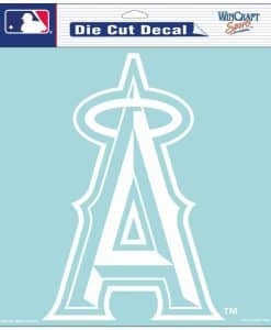 "Los Angeles Angels of Anaheim Die-Cut Decal - 8""x8"" White"