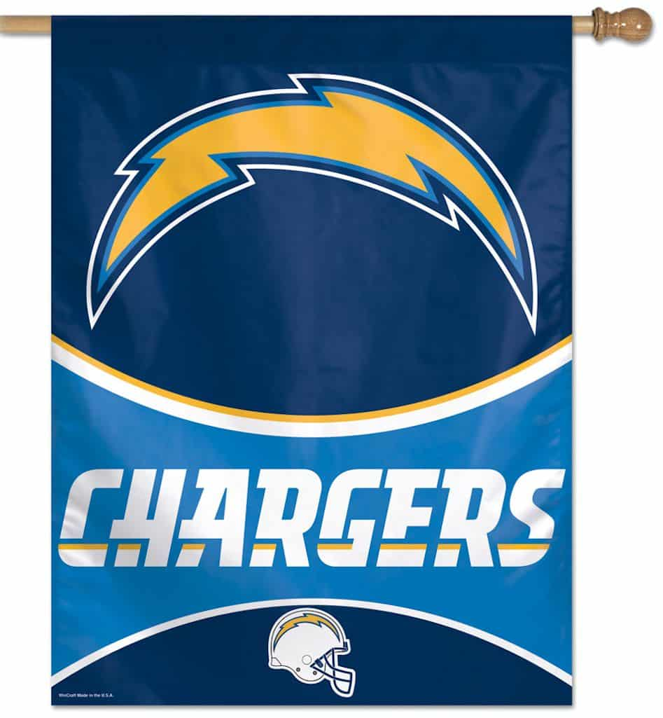 """San Diego Chargers Banner: San Diego Chargers 27""""x37"""" Banner"""