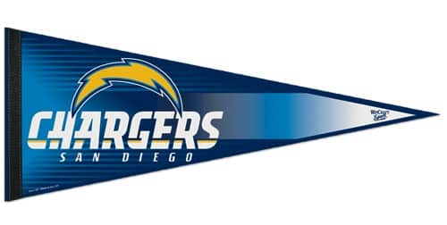 San Diego Chargers Pennant Detroit Game Gear
