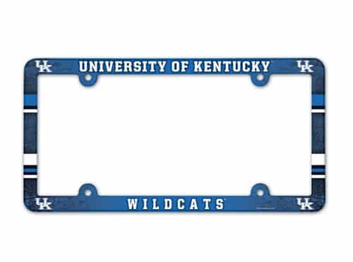 Kentucky Wildcats License Plate Frame Full Color