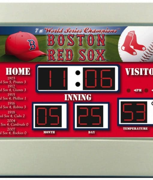 Boston Red Sox Scoreboard Desk Amp Alarm Clock Detroit