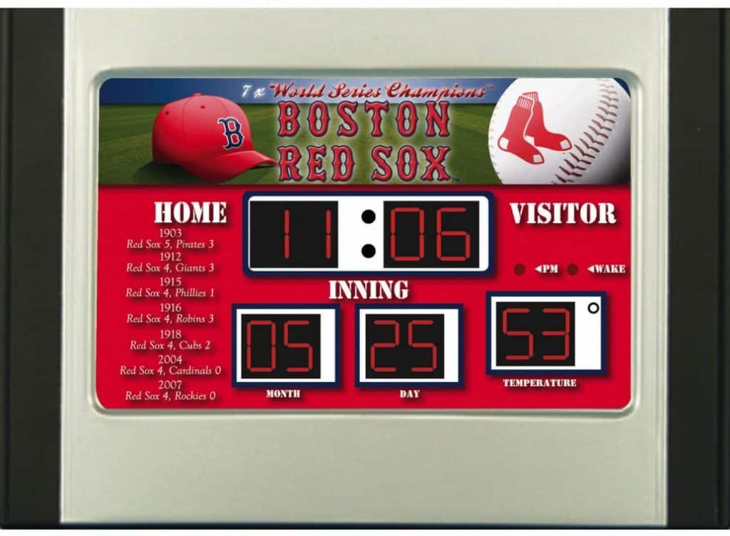 Boston Red Sox Scoreboard Desk Amp Alarm Clock Detroit
