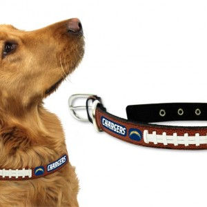 San Diego Chargers Dog Collar Large Detroit Game Gear