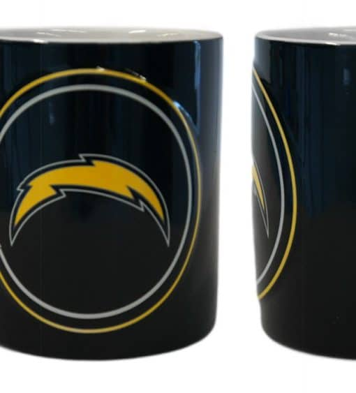 San Diego Chargers Coffee Mug 14oz Sculpted Warm Up