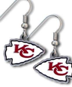 Kansas City Chiefs Dangle Earrings