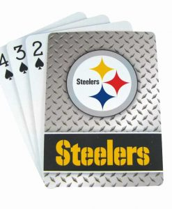 Pittsburgh Steelers Playing Cards - Diamond Plate