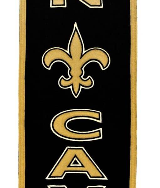 New Orleans Saints Man Cave Ideas : New orleans saints wool man cave banner detroit game gear