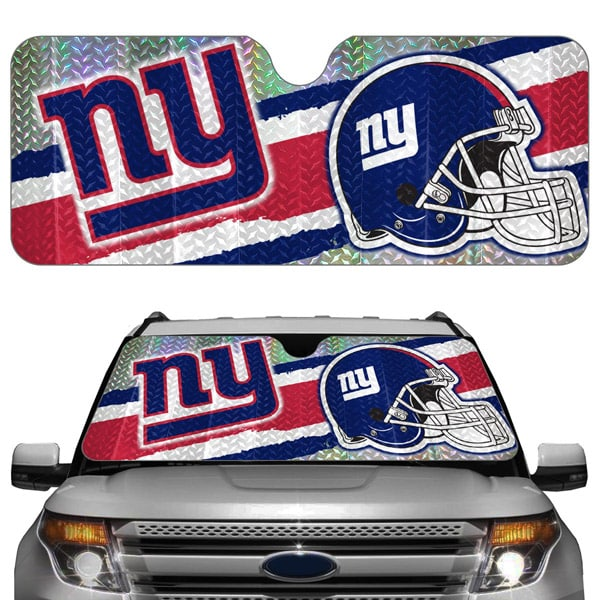 new york giants auto sun shade detroit game gear. Black Bedroom Furniture Sets. Home Design Ideas