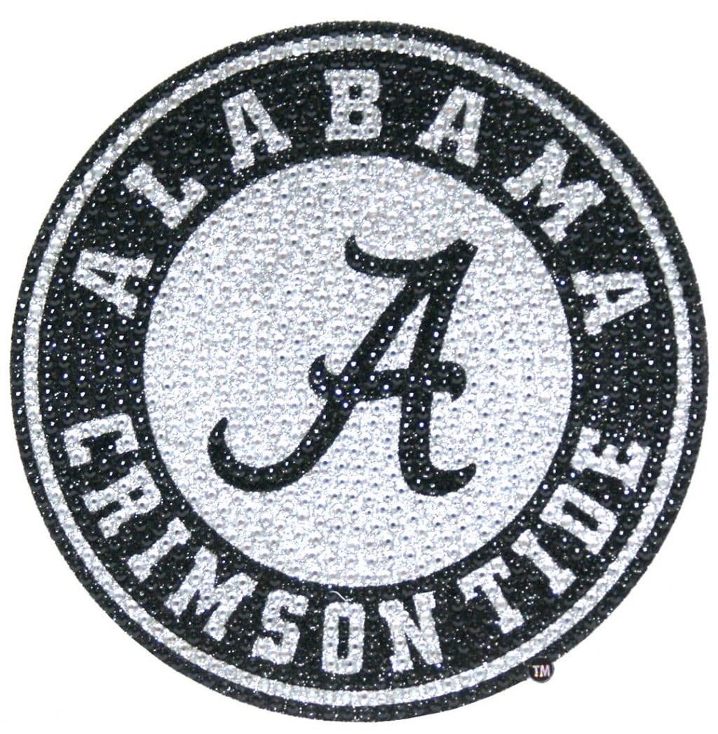Alabama Crimson Tide Bling Auto Emblem