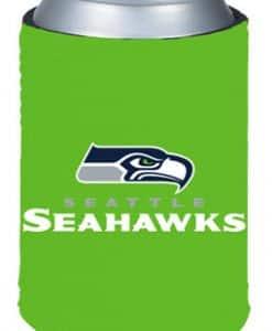 Seattle Seahawks Kolder Kaddy Can Holder - Neon Green
