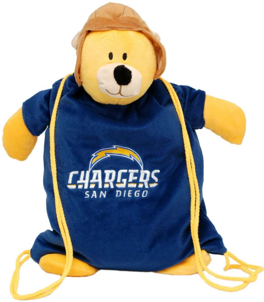 San Diego Chargers Backpack: San Diego Chargers Backpack Pal