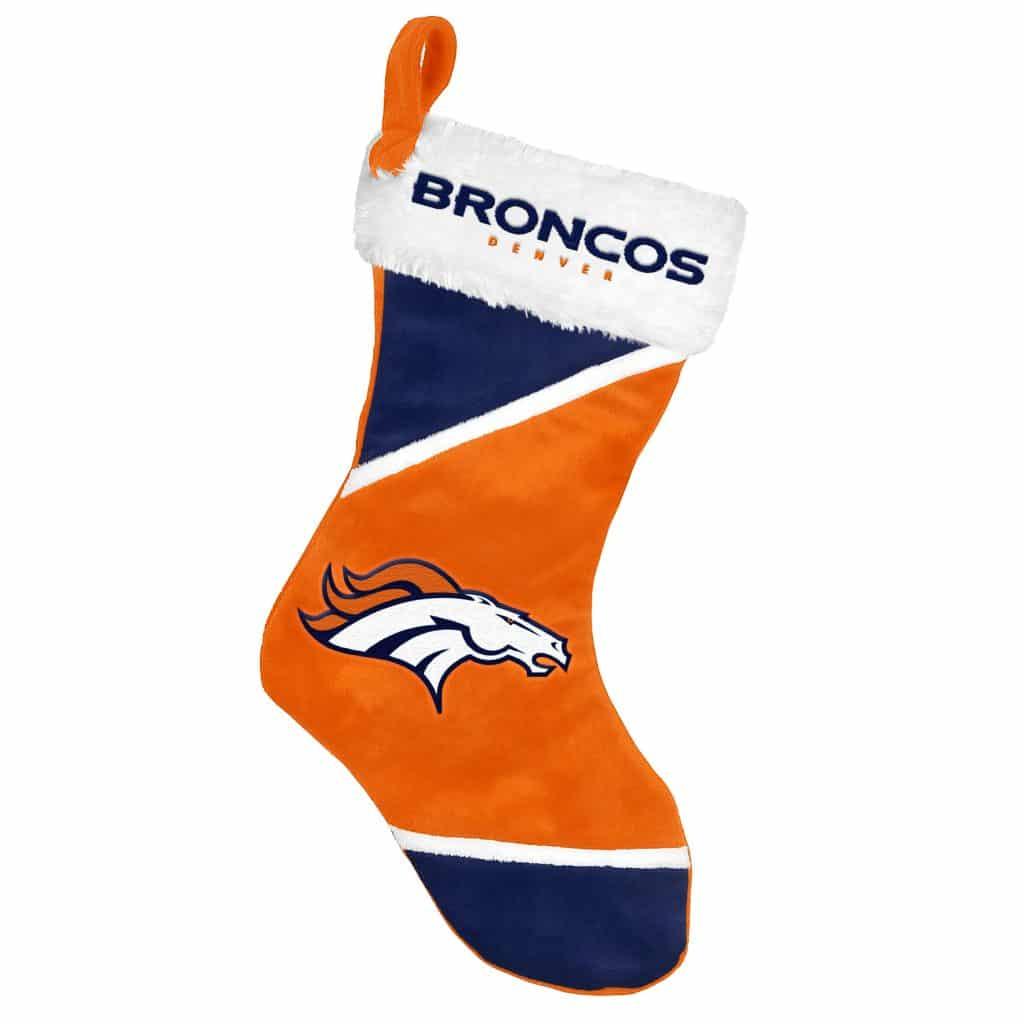 Broncos Stocking Hat: Denver Broncos Holiday Stocking