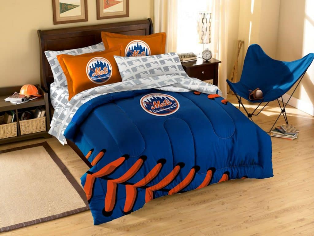 new york mets bed in a bag full size detroit game gear. Black Bedroom Furniture Sets. Home Design Ideas