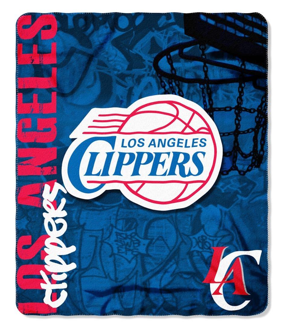 sale retailer 65d1e e0e31 Los Angeles Clippers 50x60 Fleece Blanket - Hard Knock Design