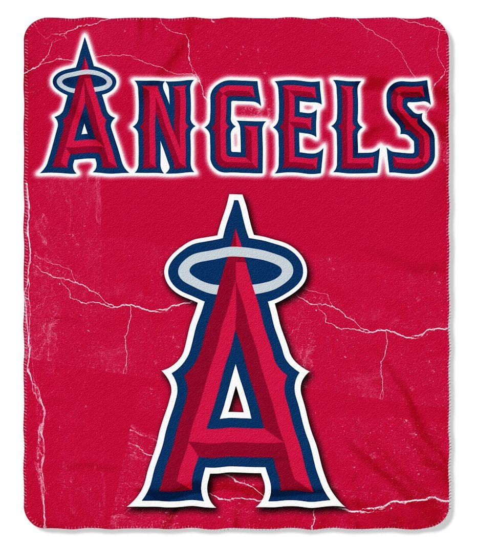 Los Angeles Angels of Anaheim Fleece Throw