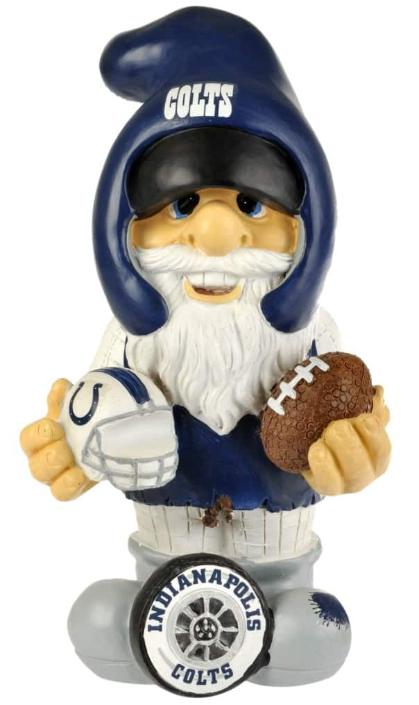 Indianapolis Colts Garden Gnome 11 Quot Thematic Second