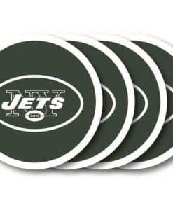 New York Jets Coaster Set - 4 Pack