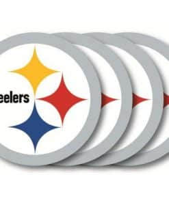 Pittsburgh Steelers Coaster Set - 4 Pack