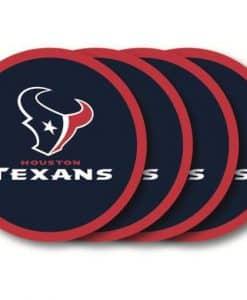 Houston Texans Coaster Set - 4 Pack