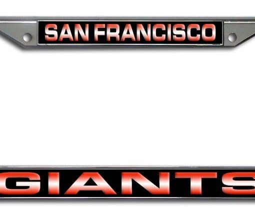 Contemporary San Francisco Giants License Plate Frame Pattern ...
