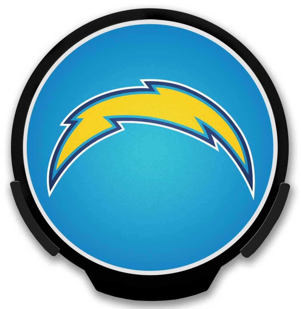 San Diego Chargers Light Up Powerdecal Detroit Game Gear