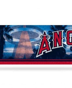 Los Angeles Angels Bumper Sticker - Glitter
