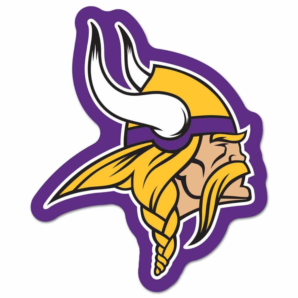 minnesota vikings logo on the gogo detroit game gear