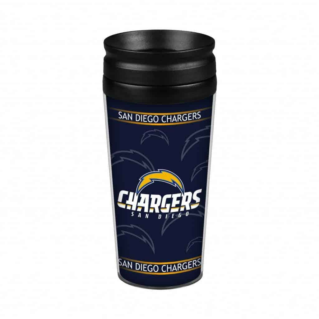 San Diego Chargers 14oz Full Wrap Travel Mug Detroit