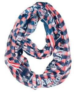 New England Patriots Infinity Scarf - Plaid