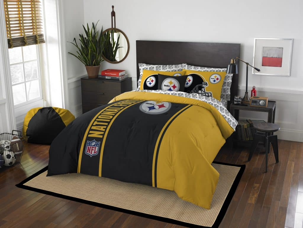 Pittsburgh Steelers Soft Amp Cozy Full Size Bed In A Bag