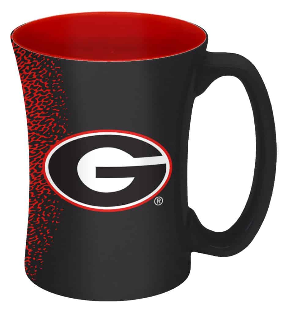 Georgia Bulldogs 14 oz Mocha Coffee Mug