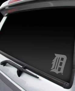 Detroit Tigers Chrome Window Graphic Decal