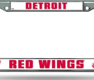 Detroit Red Wings Chrome License Plate Frame Detroit