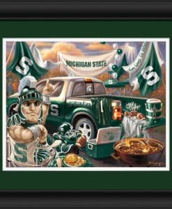 Michigan State Tailgate 15″x18″