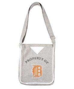 Detroit Tigers Hoodie Crossbody Purse Bag