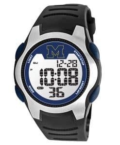 UofM Mens LCD Watch