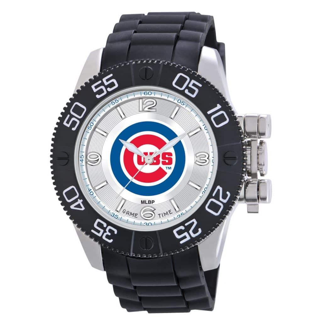 Chicago Cubs Mens Quartz Analog Beast Watch