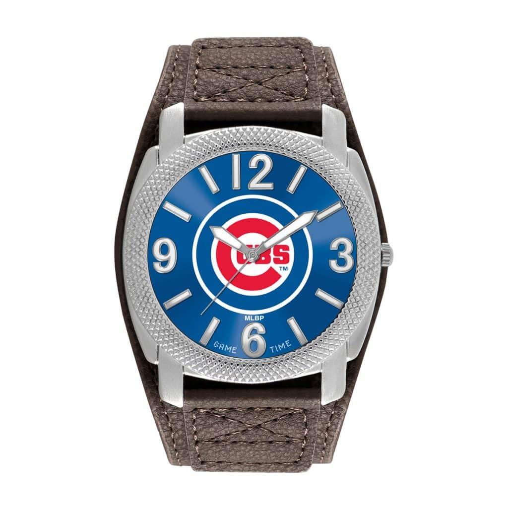 Chicago Cubs Mens Quartz Analog Defender Watch