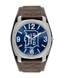 Detroit Tigers Mens Quartz Analog Defender Watch