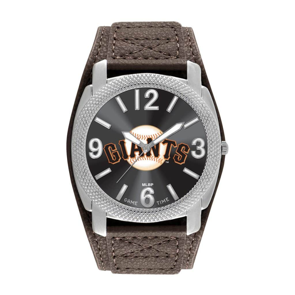 San Francisco Giants Mens Quartz Analog Defender Watch