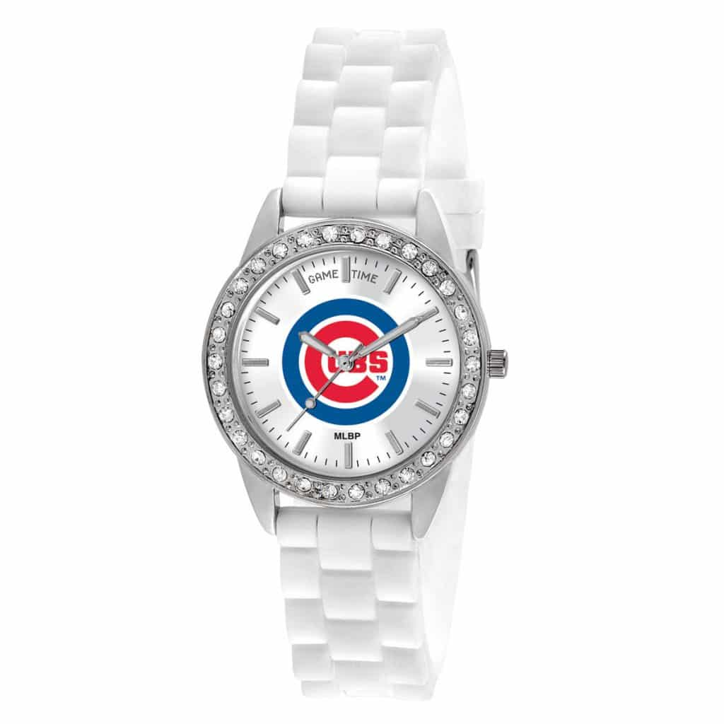 Chicago Cubs Ladies Quartz Analog Frost Watch