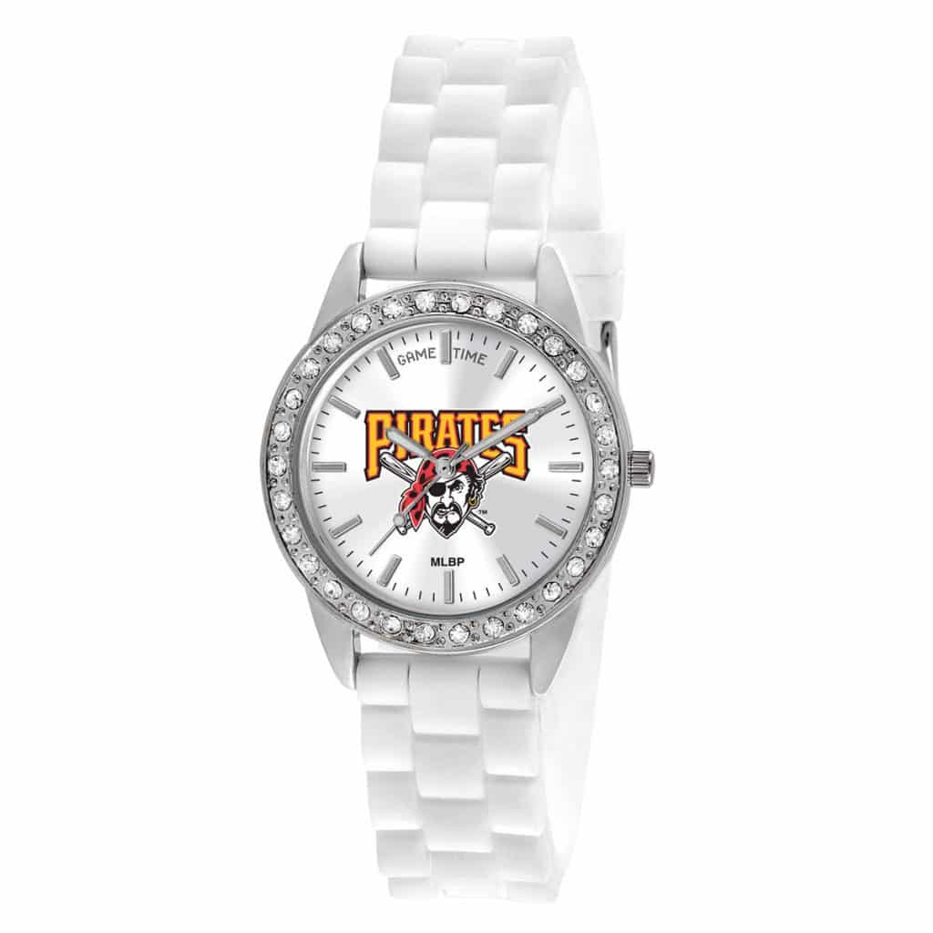 Pittsburgh Pirates Logo Ladies Quartz Analog Frost Watch