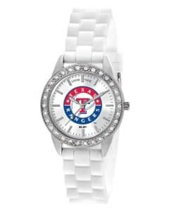 Texas Rangers Ladies Quartz Analog Frost Watch